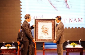 Commemorative Stamp on Mahatma@150