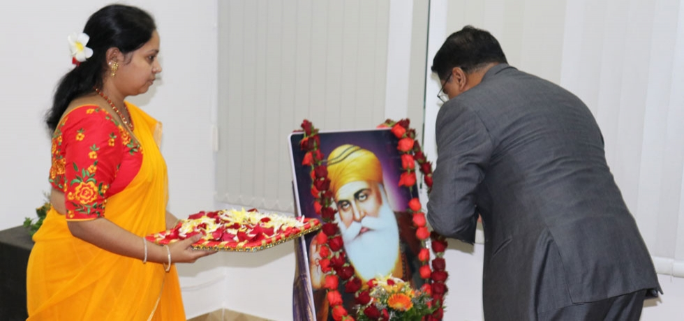 Celebration of 550th birth anniversary of Shri Guru Nanak Dev Ji