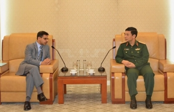 Ambassador met the Chief of General Staff of the Vietnam People's Army, Senior Lieutenant General Phan Van Giang on 15 November 2019 and discussed ongoing cooperation in India-Vietnam defence partnership.