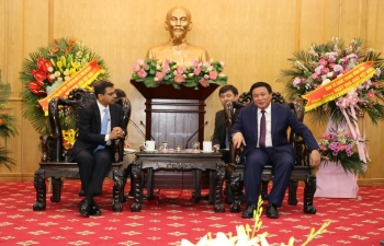 Ambassador visits Ho Chi Minh National Academy of Politics