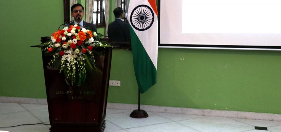 Embassy celebrates Pravasi Bharatiya Diwas