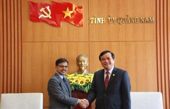 Ambassador visits Quang Nam Province