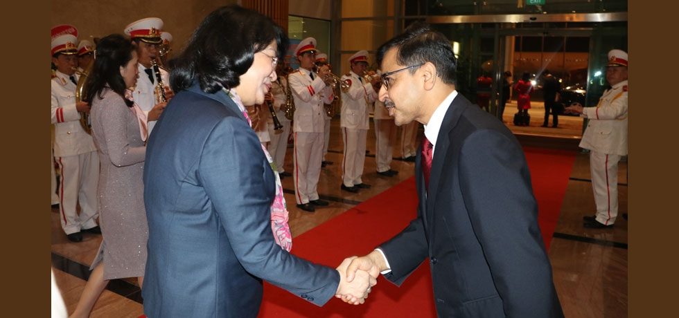 Vice President of Vietnam Departs for India - 11 Feb 2020