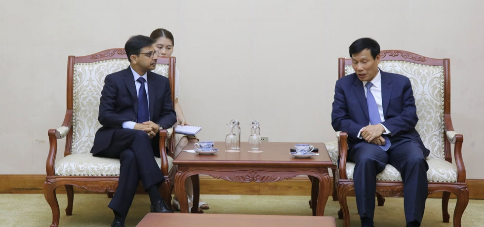 Ambassador met the Minister of Culture, Sports and Tourism of Vietnam, H.E. Mr. Nguyen Ngoc Thien on 3 July 2020.