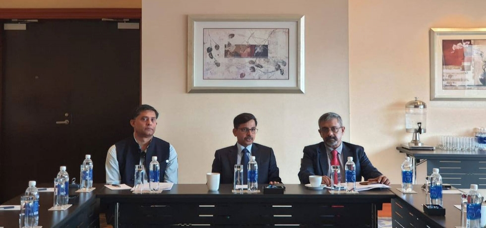 During his recent visit to Ho Chi Minh City, Ambassador interacted with Members of the Indian Business Chamber (InCham) on 29 June 2020