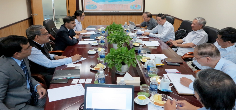 Ambassador had an interactive session with senior scholars of the Centre for Strategic Studies and International Development (CSSD) of Vietnam on 22 July 2020 and exchanged views on bilateral relations and regional and global issues of common interest.