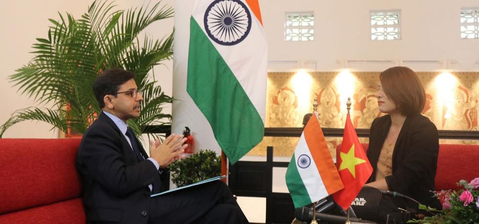 Ambassador's Interview by Vietnamese Media