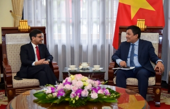 Ambassador's Meeting with VFM Nguyen Minh Vu