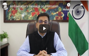 Ambassador's message on International Day of Yoga 2020