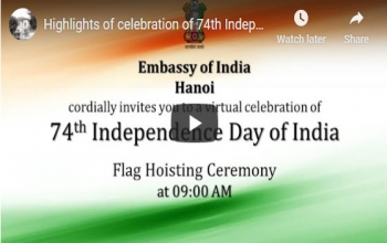 Highlights of celebration of 74th Independence Day of India
