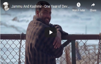 Jammu and Kashmir- One Year of Development