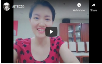 #ITEC56- Watch our friends from Vietnam recall their fond memories of the ITEC experience in India.