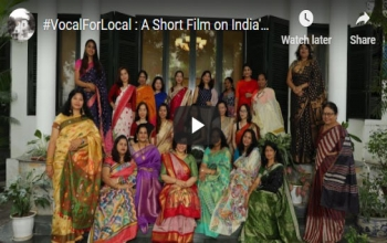 #VocalForLocal : A Short Film on India's Rich Handloom Traditions #TypesOfSarees