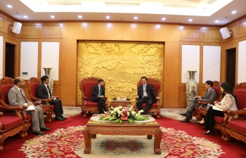 Ambassador meets Vice Chairman of External Relations Commission