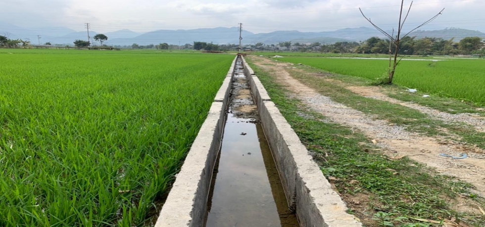 Inauguration of irrigation project in Nghia Lo town of Yan Bai