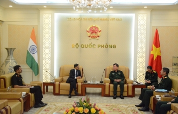 Ambassador meets Deputy Minister of National Defence of Vietnam
