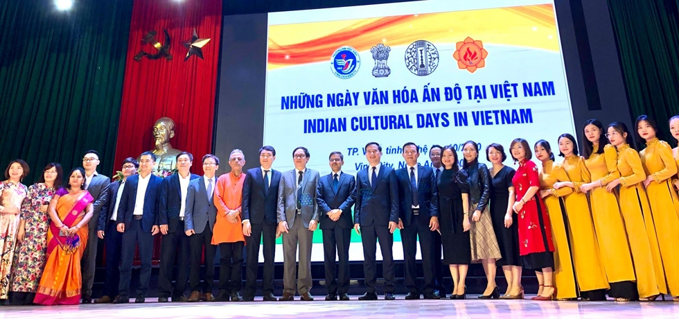 Ambassador's Visit to Vinh University in Nghe An