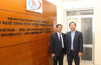 Ambassador Visits ARC-ICT