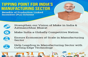 Production-Linked Incentive Scheme to 10 key Sectors for enhancing  manufacturing capabilities and exports