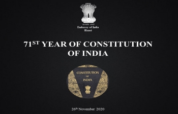 71st Constitution Day of India - 26 November 2020