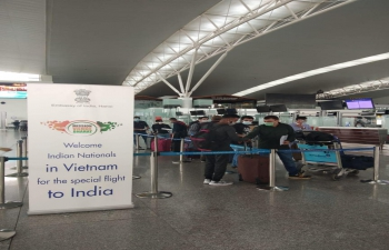The seventh repatriation flight for stranded Indian nationals in Vietnam, a special Air India flight under the #VandeBharatMission, took off from Hanoi for Delhi in the afternoon of  28 November with 97 passengers on board.