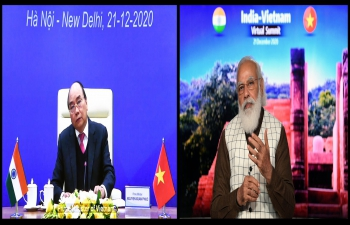 India-Vietnam Virtual Bilateral Summit (21 December 2020)
