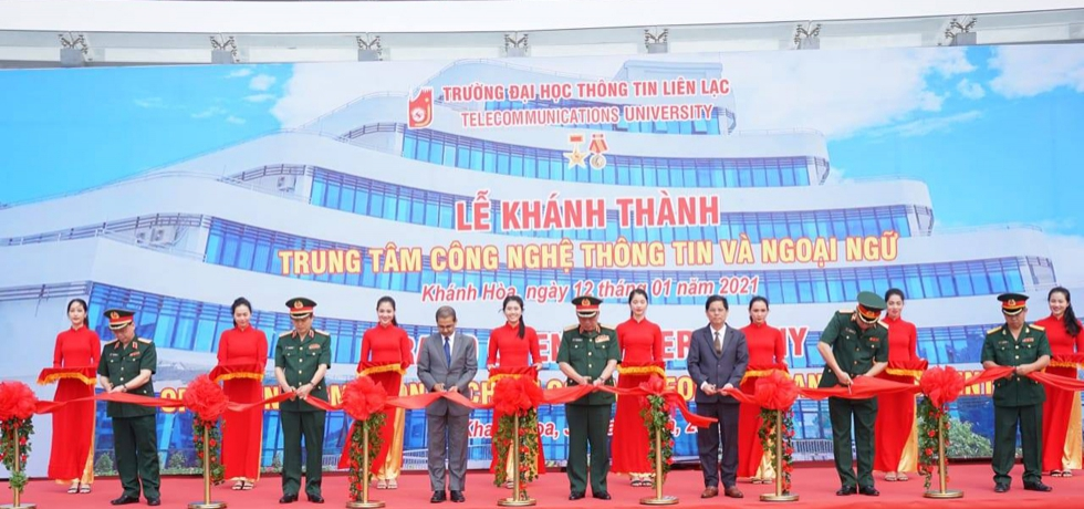 Inauguration of Army Software Park in Nha Trang