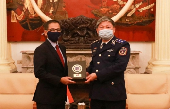 Ambassador's Meeting with Commander, Vietnam Coast Guard