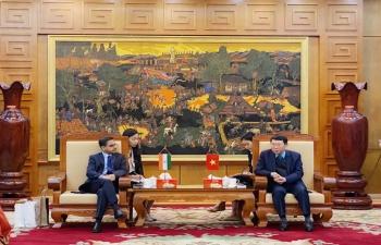 Ambassador's visit to Bac Giang Province