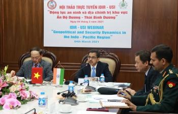 USI-IDIR Webinar on Indo-Pacific : 4 March 2021