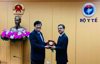 Ambassador's Meeting with Minister of Health of Vietnam