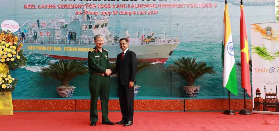 Ambassador's Visit to Hong Ha Shipyard