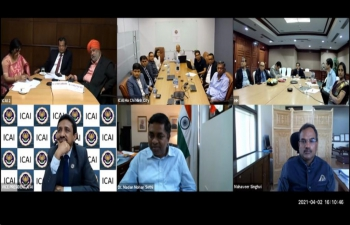Virtual Launch of Branch Offices of ICAI