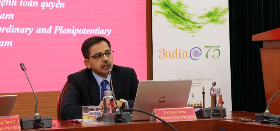 India@75: Ambassador's Presentation at HCMNAP on 5 Years of CSP
