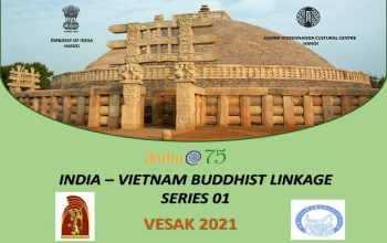 India@75: India – Vietnam Buddhist Linkages series 01 (26 May 2021)