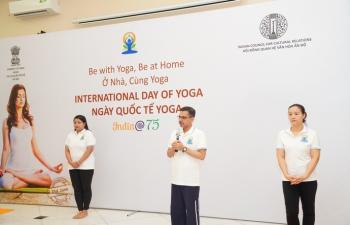 Celebration of International Yoga Day 2021