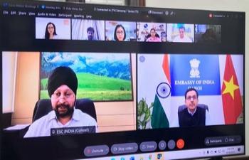 India@75:Webinar on Fostering India-Vietnam Cooperation in ICT