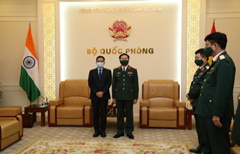 Ambassador's Meeting with CGS of Vietnam People's Army