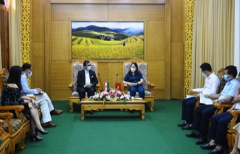 Deputy Chief of Mission visit to Yen Bai Province