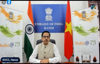 """India@75: Webinar on """"India-Vietnam Cultural Confluence: The Heritage of Oc Eo and Champa Cultures"""""""