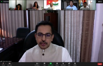 """India@75: Webinar on """"Covid-19 and its Management through Ayurveda"""""""