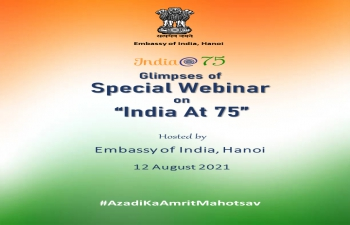 """India@75: Special Webinar on """"India At 75"""" to mark India's 75th Independence Day"""
