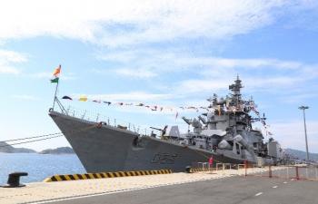 India@75: Visit of INS Ranvijay and Kora to Vietnam