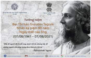 India@75: Webinar on Gurudev Tagore