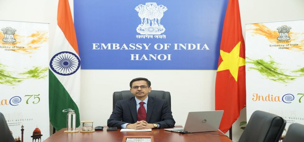 Ambassador Hosts Special Webinar on