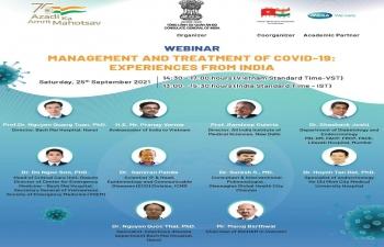India@75: Webinar on COVID-19 -- Experiences from India
