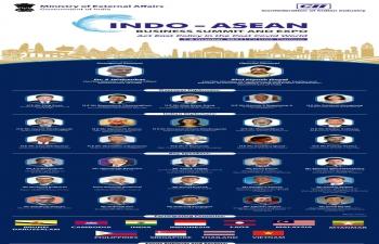 Ambassador's Participation in CII's Indo-ASEAN Business Summit & Expo